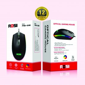 Chuột máy tính ROSI RS-02 [Led RGB - 7 màu]
